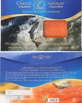 Atlantic Smoked Salmon Master's Cut