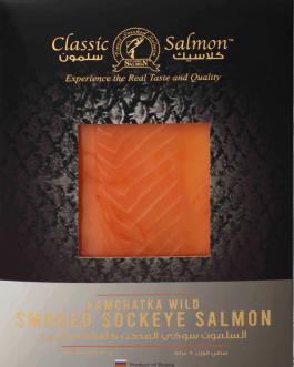 Smoked Sockeye Salmon (KAMCHATKA WILD) 80gr